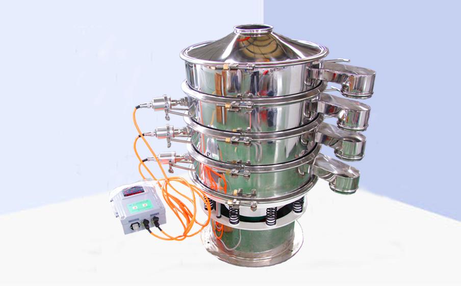 厂家直销 先锋石墨粉专用筛分设备 S49-超声波旋振筛 超声筛分机