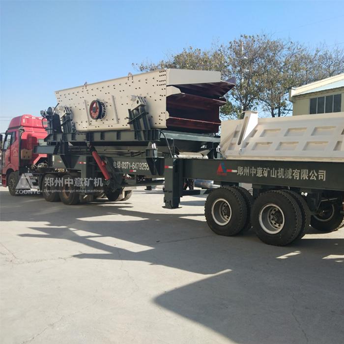 新型建筑垃圾处理设备,混凝土块破碎机