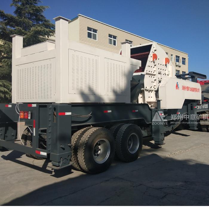 江苏南京建筑垃圾处置方案 国内移动式/轮胎式/履带式破碎机厂家