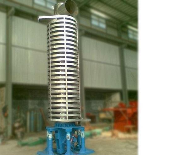 振动垂直提升机对物料提升效果分析