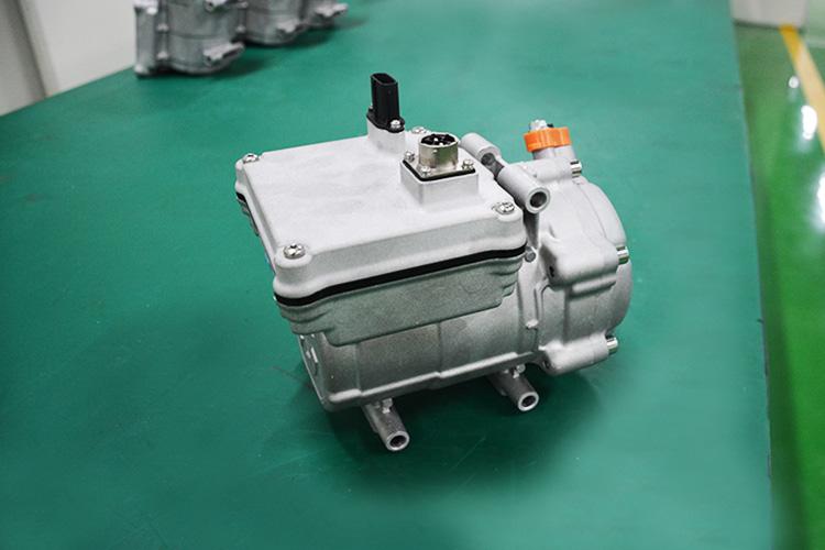 27cc电动涡旋压缩机 跃博新能源 涡旋压缩机厂家