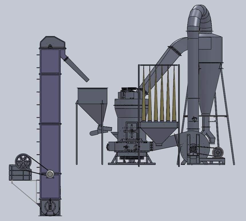 立式磨粉机跟雷蒙磨的区别