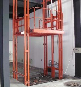 固定液压升降货梯