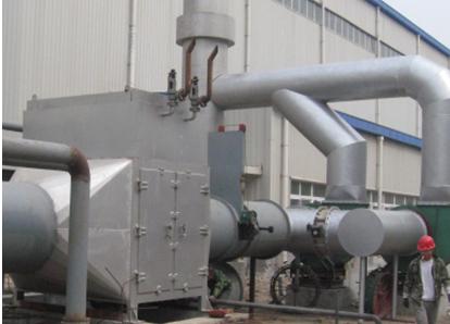 熔炼加热炉烟气余热回收系统