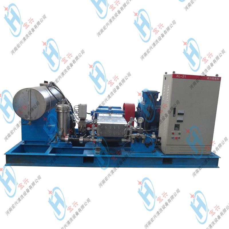 电厂排灰管道清洗机 输灰管道超高压冷水工业清洗机