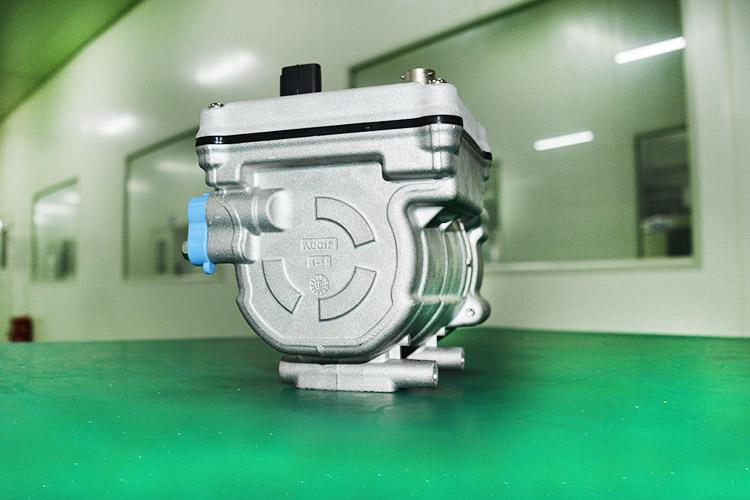 20cc电动涡旋压缩机 涡旋压缩机厂家 跃博新能源