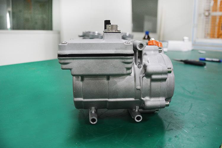 电动压缩机 电动汽车空调压缩机厂家 跃博新能源