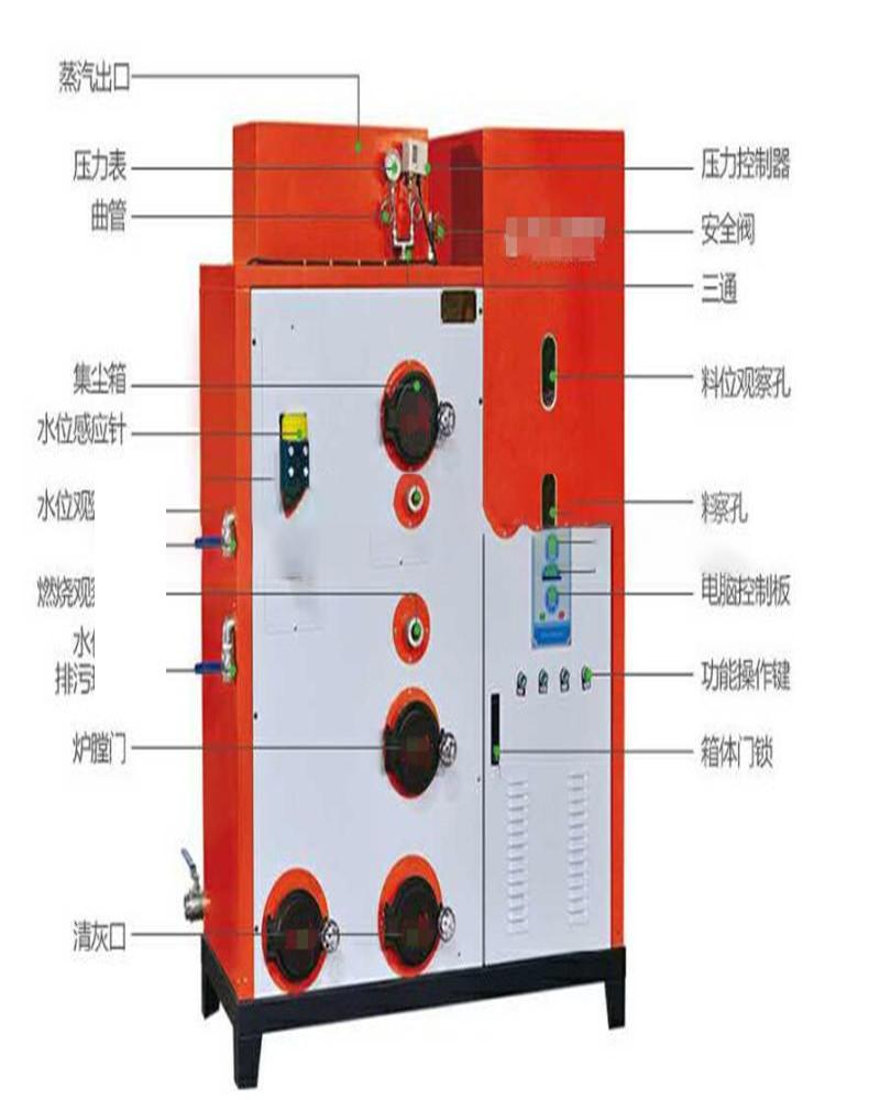 300公斤生物质蒸汽发生器