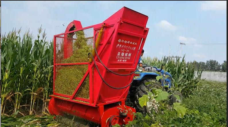 玉米秸秆收获机