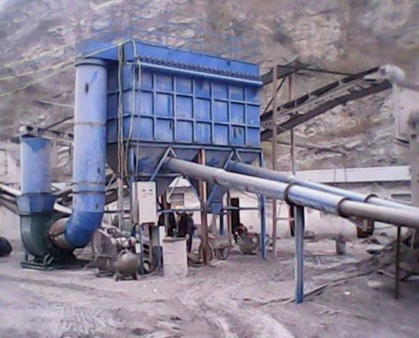 矿山制砂机布袋除尘器
