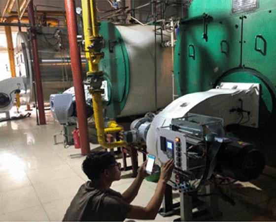 燃油热水锅炉效率