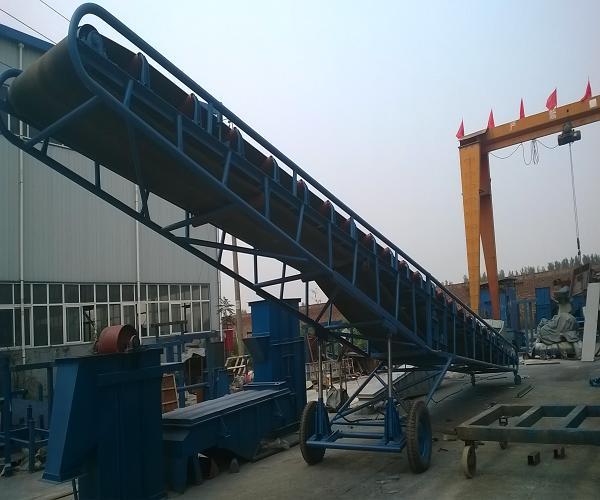 焦煤专用大倾角输送机
