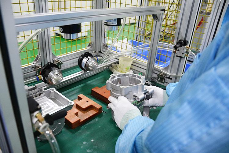 科冷 电动汽车空调压缩机厂家 跃博新能源