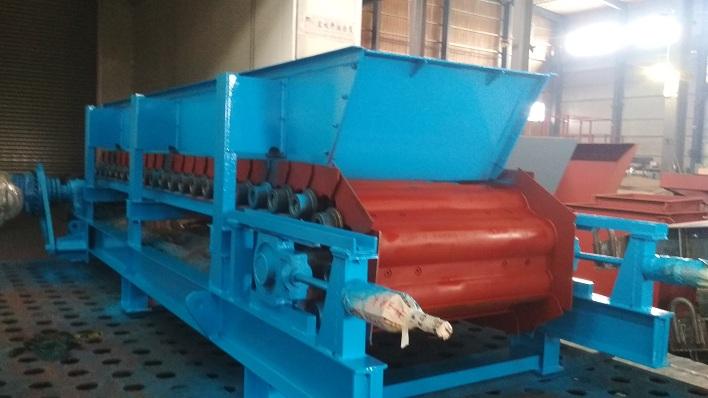 板式给料机在砂石生产线的应用