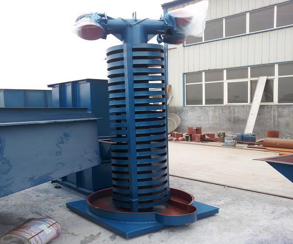 磷矿粉垂直振动提升机