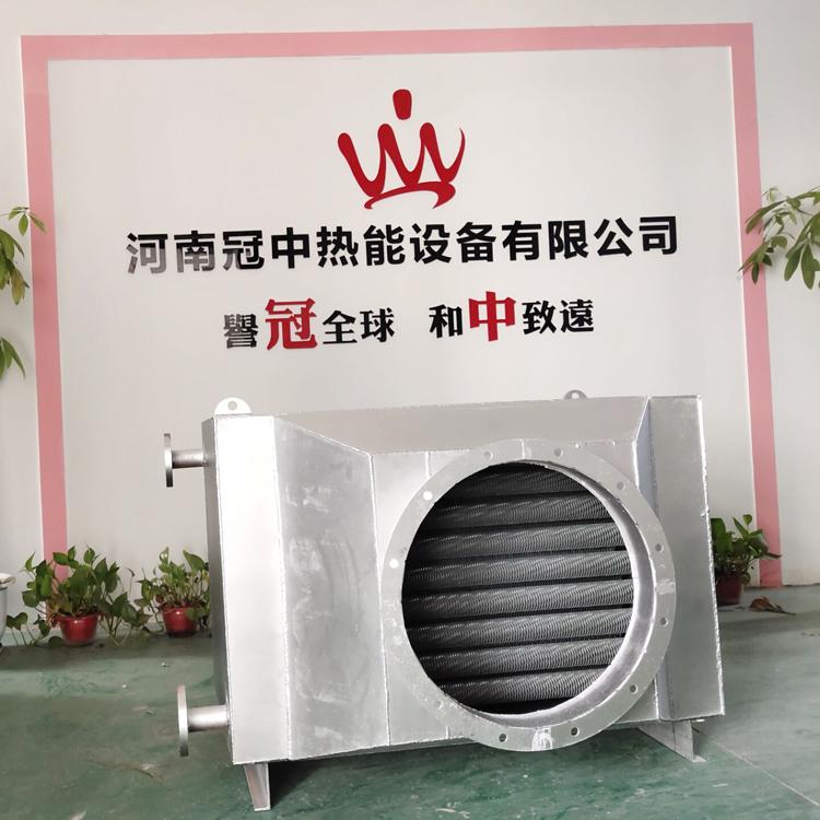 4吨燃气锅炉烟气节能器冷凝器烟气余热回收装置