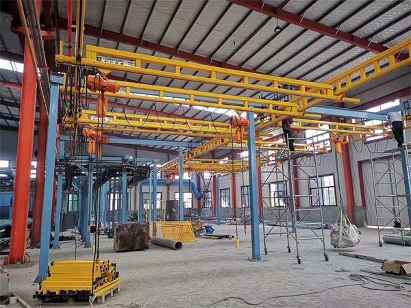 KBK刚性自立式起重机-河南省时代输送设备有限公司