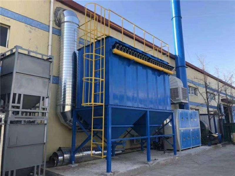 除尘器-橡胶布袋除尘器厂家供应-报价原理应用用途
