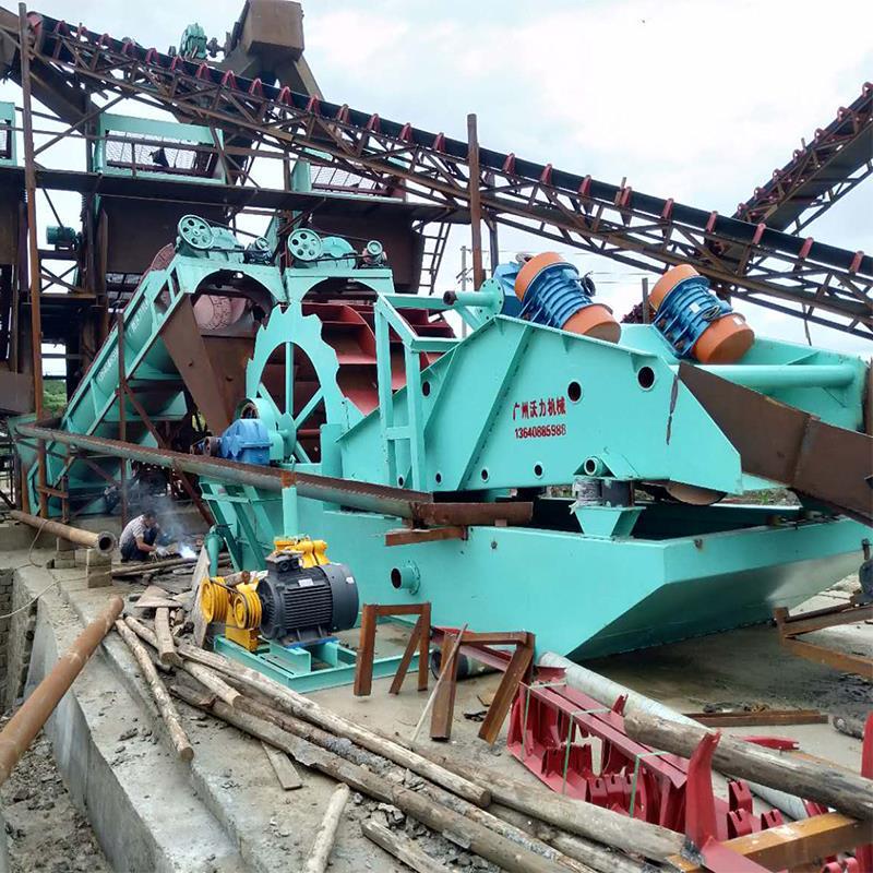 广州沃力重工 广西梧州洗沙机洗出来的沙干净度很重要