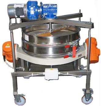 超声波振动筛-刮板式超声波振动筛厂家供应-技术参数图纸安装