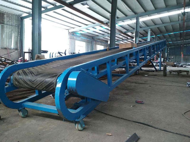 皮带输送机-隧道专用皮带输送机生产厂家-特点图纸参数规格