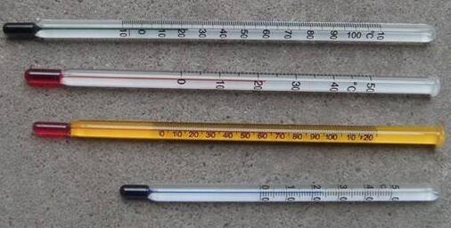 玻璃温度计