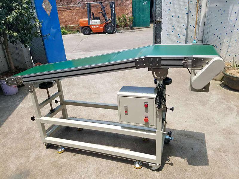 红砂生产线专用胶带输送机