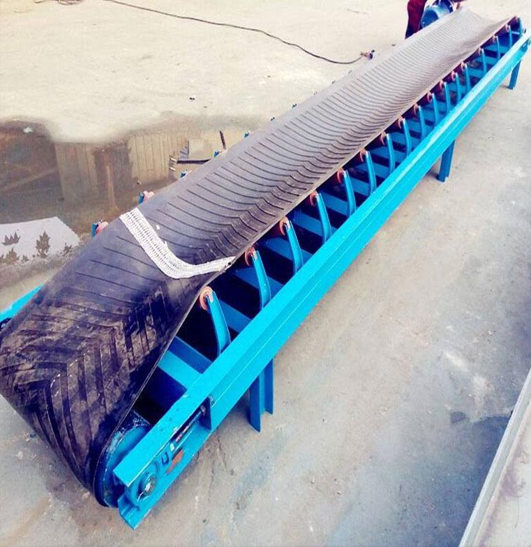 藻归土专用移动式皮带输送机