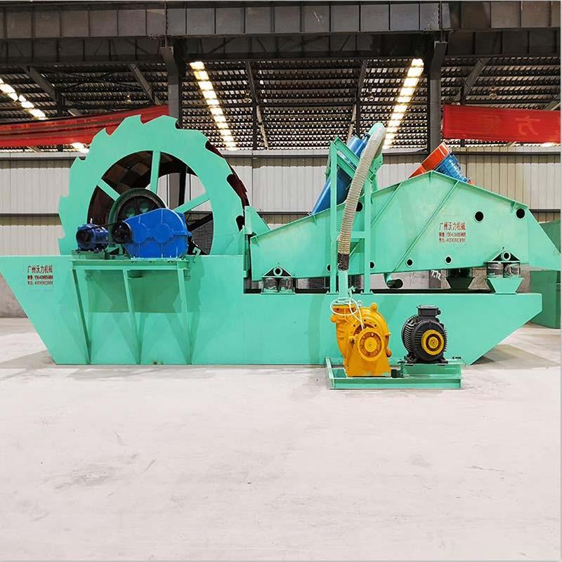 广西洗沙机磨损严重 该如何保养与维护 沃力机械