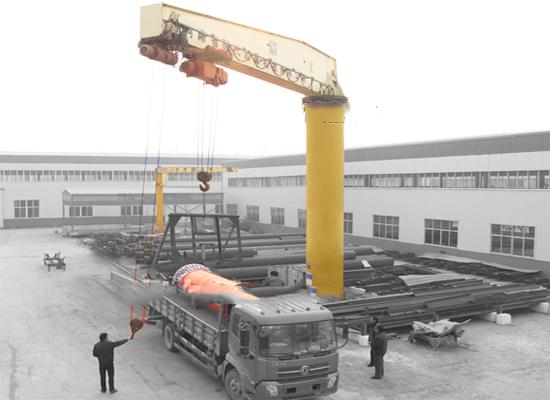 BZZ重型旋臂起重机-河南省时代输送设备有限公司