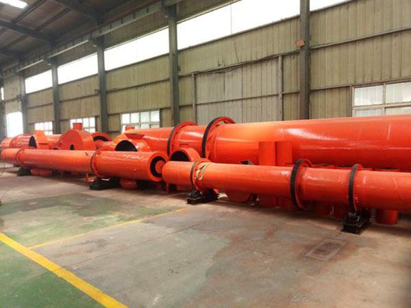 威海节能高产工业污泥烘干机生产厂家