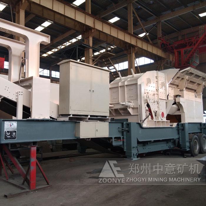陕西铜川时产180吨建筑垃圾建筑垃圾处理设备上线