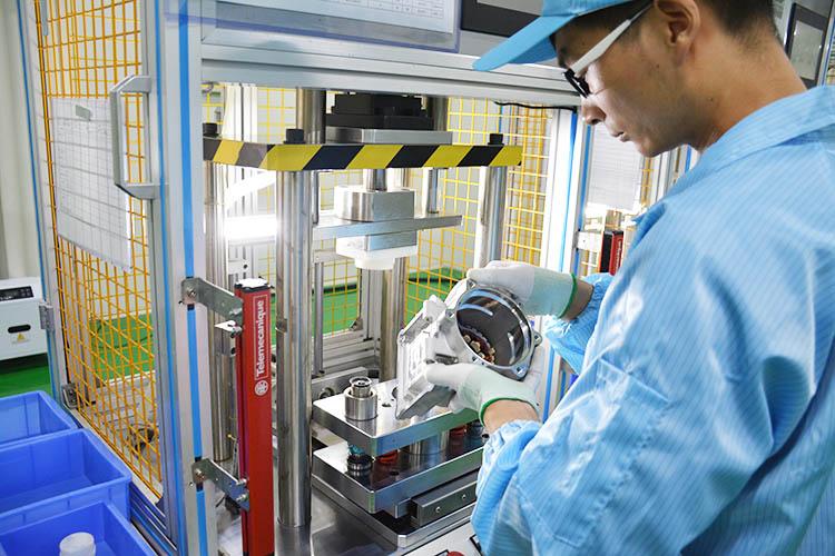 电动汽车空调压缩机八怪之一 科冷 跃博新能源