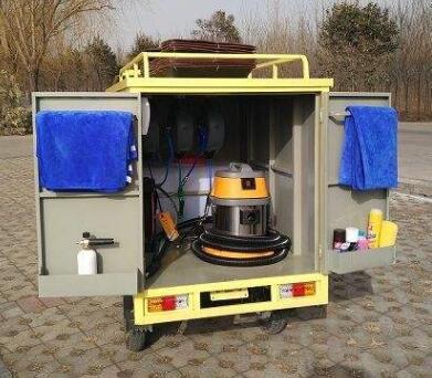 移动蒸汽洗车机