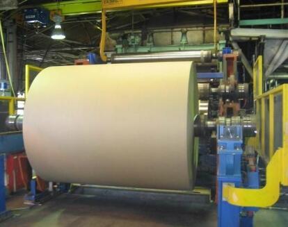 圆网造纸机