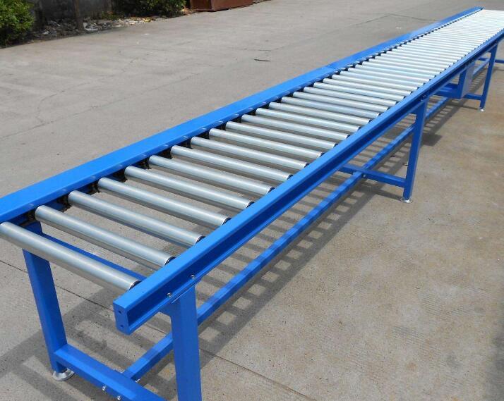 滚筒输送机-辊道输送机碳钢喷塑线厂家供应-特点材质型号原理
