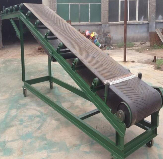皮带输送机-散粮装卸式皮带输送机供应厂家-规格原理技术材质