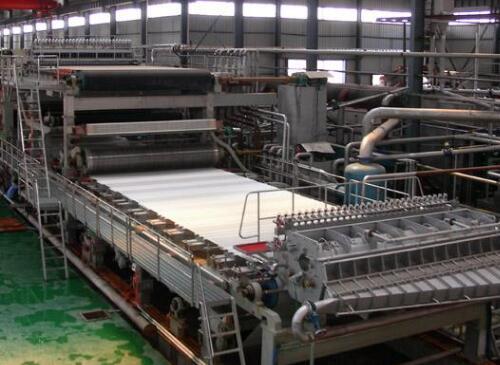 夹网造纸机