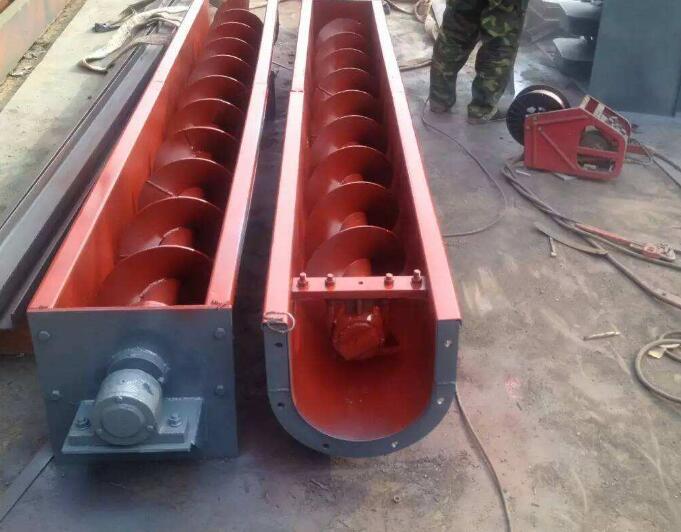 螺旋输送机-洗煤厂专用螺旋输送机厂家供应-特点材质报价原理