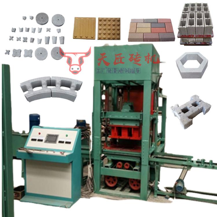 全自动3型免烧砖机 水泥制砖机 混凝土空心砌块砖机