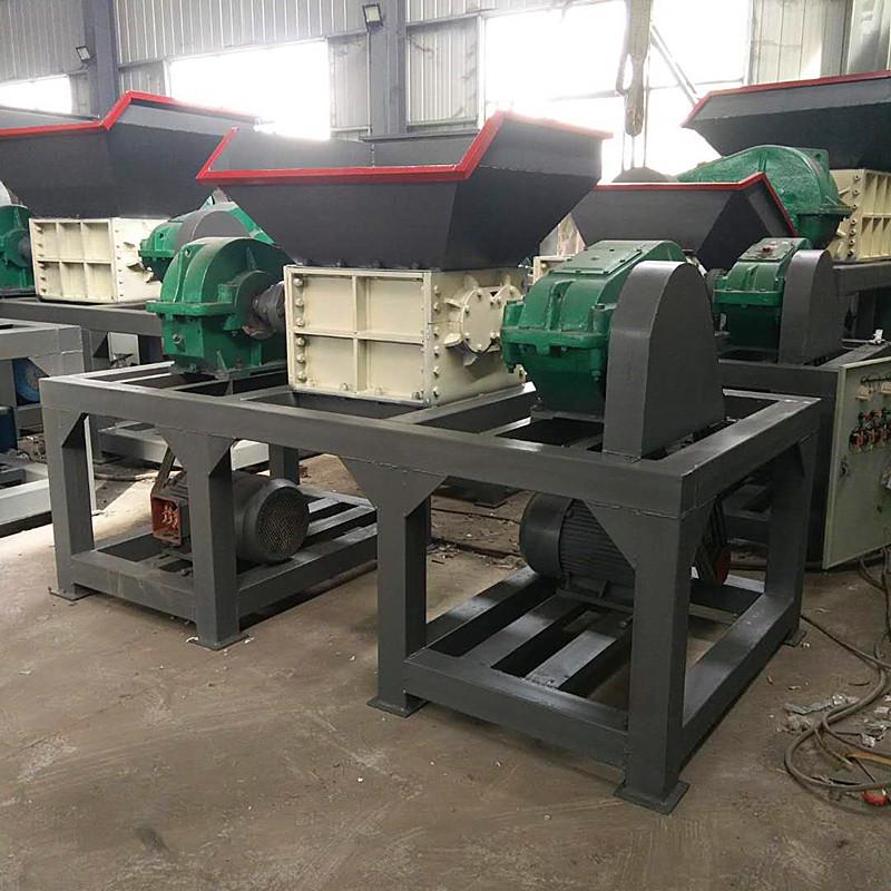 废钢废铁金属双动力撕碎机