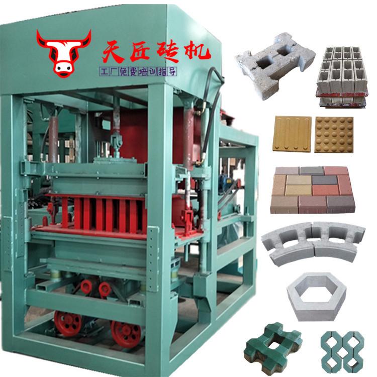 免烧砖机,水泥砖机,全自动空心砌块机,粉煤灰小八孔砖机