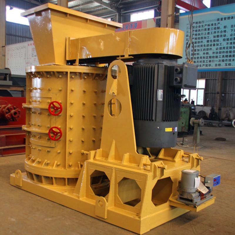 800型立轴式板锤鹅卵石制砂机 河卵石数控制砂机 复合矿渣细碎制砂机