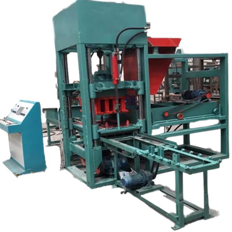 免烧砖机,3-15水泥制砖机,西班牙砖机,单八字植草砖机