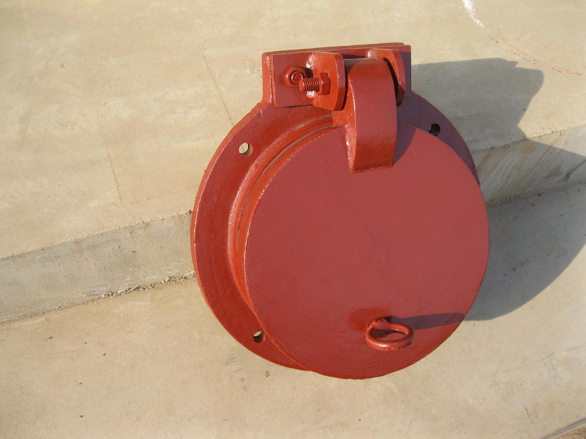 高品质复合材料拍门0.6米 拍门价格 质量有保证