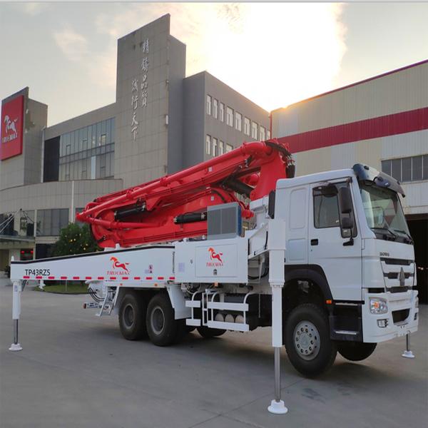 43米混凝土泵车厂家直销