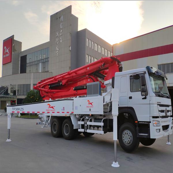 38米混凝土泵车价格信瑞重工