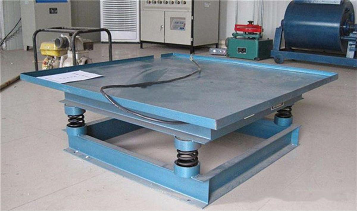 混凝土填充振动平台