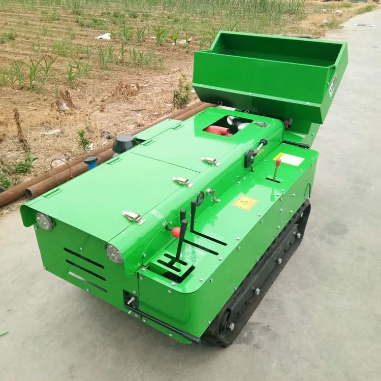 田园管理机 微耕机 履带开沟施肥机