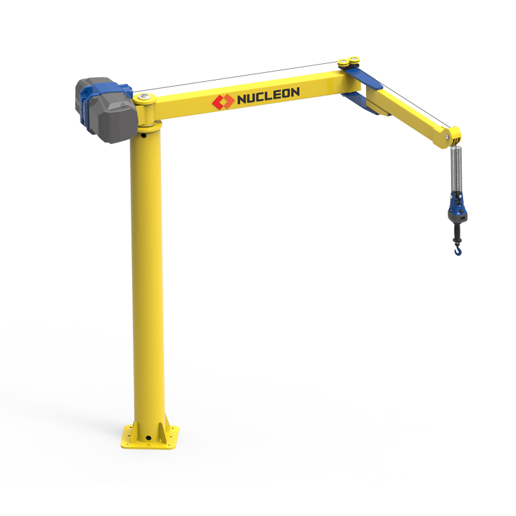 智能提升折臂起重机 折臂式悬臂吊 悬臂起重机